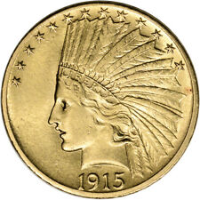 US Gold $10 Indian Head Eagle - AU Condition - Random Date