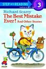 Step into Reading: The Best Mistake Ever! and Other Stories by Richard Scarry (1984, Paperback)