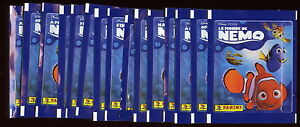 15-pochettes-PANINI-LE-MONDE-DE-NEMO-Disney-PIXAR