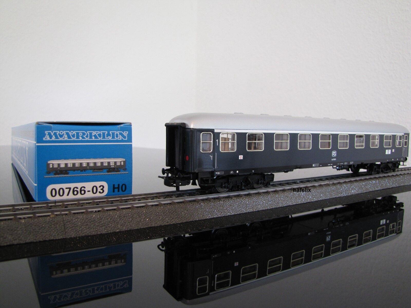 Märklin 00766-03 Feinblech Schnellzugwagen Az, 1. Klasse der ital. Staatsb. (FS)  | Hohe Qualität Und Geringen Overhead