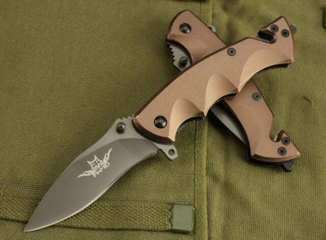 Assisted opening FX Liner Lock Pocket Knife Outdoor Hunting Survival Saber Gift