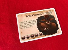 New Salem Board Game Promo Card Tom Commands Dice Tower Kickstarter