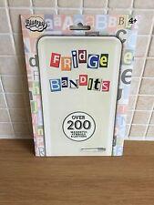 I magneti frigo BANDIT 200 Lettere & Numeri ortografia matematica regalo Message Board