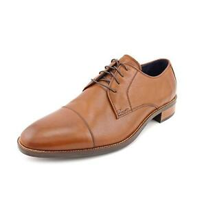eb4daf6e74260 Cole Haan Men s Lenox Hill Cap Toe Oxford British Tan Shoes - C11632 ...