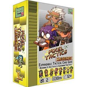 Image Is Loading Pixel Tactics PRESALE Legends Expansion Board Card Game