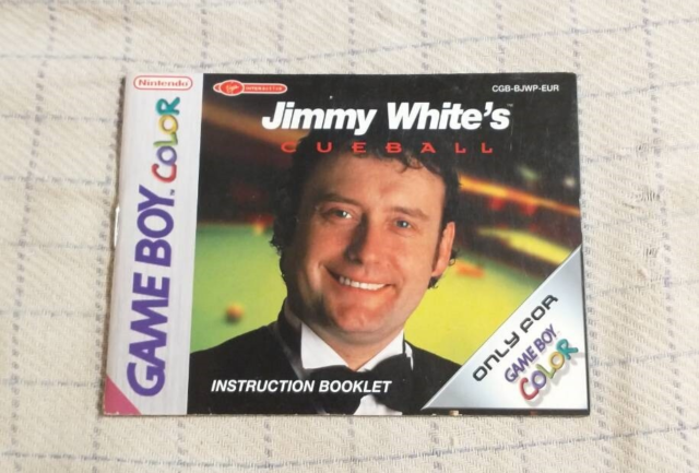 Nintendo Tilbehør, Game Boy Color Manual Jimmy White´s…