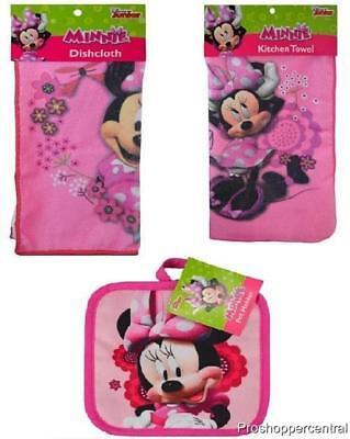 "Disney Junior Minnie Mouse Pink 7/"" x 7/"" Pot Holder"