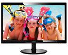 Philips V-line 246V5LSB 61 cm (24 Zoll) LED Monitor - Schwarz