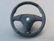 Lederlenkrad BMW E34 E36 (2) E39 Z3 mit Airbag und ALCANTARA!!!