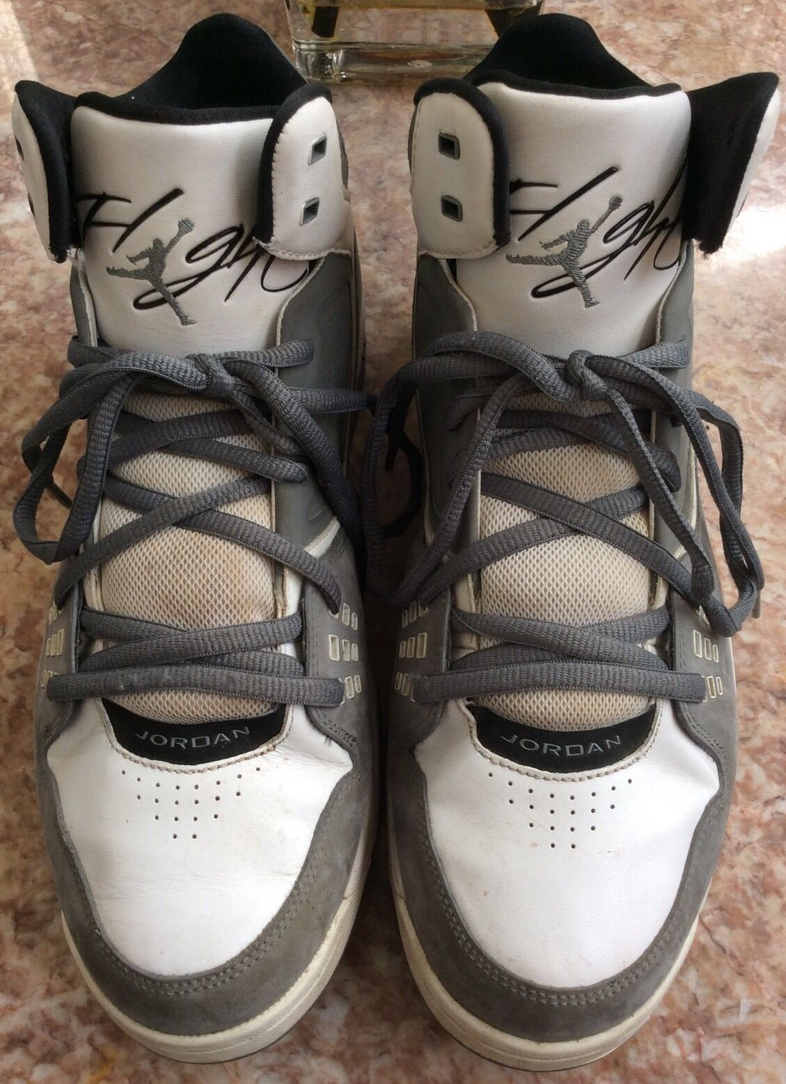 2972ccbb278 ... NIKE Air Jordan Flight 23 RST Men's Gray White White White Basketball  Shoes Sz12 e742b4 ...
