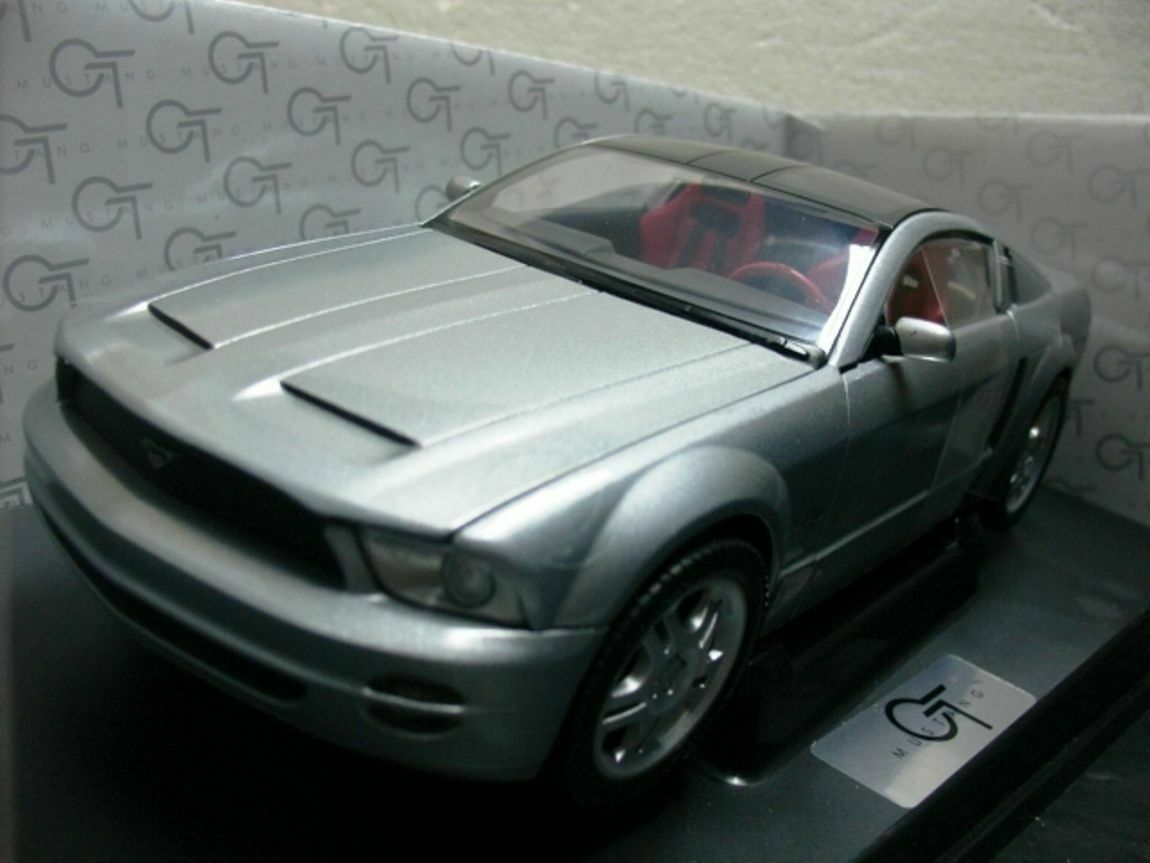 Wow extrêmement rare Ford Mustang GT 2003 Targa Siver 1 18 Minichamps-Auto Art RS