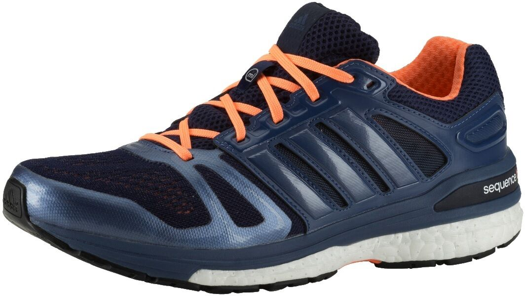 Womens Ladies Adidas Supernova Sequence Running Shoes Trainers Sneakers - Navy
