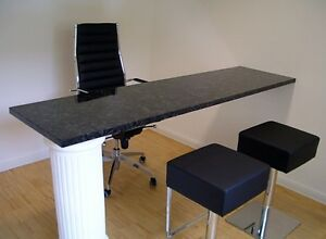 thekenplatte naturstein arbeitsplatte abdeckung stehtisch barabdeckung anrichte ebay. Black Bedroom Furniture Sets. Home Design Ideas