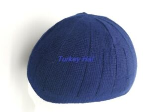 Navy-Blue-Turkish-Prayer-hat-islamic-Boy-s-childrens-Mosque-hat-topi