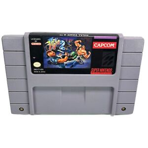 Final Fight 2 SNES - Tested - Cartridge Only
