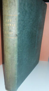 THE-ART-JOURNAL-1851-Cousen-Bourne-Bentley-Brandard-Turner-Landseer-Stanfield
