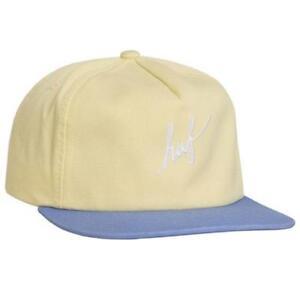 a29a3dd505c Huf Stone Wash Script Snapback Hat Mens Unisex Cap Headwear New w ...