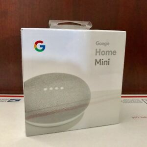 google home mini smart small speaker chalk grey. Black Bedroom Furniture Sets. Home Design Ideas