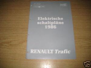 Elektrischer Schaltplan Renault Trafic | eBay
