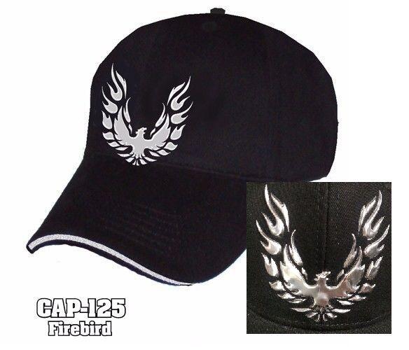 Pontiac Logo Black Baseball Cap