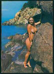 Naturist Nudist Ile du Levant France European Pinup nude original ...
