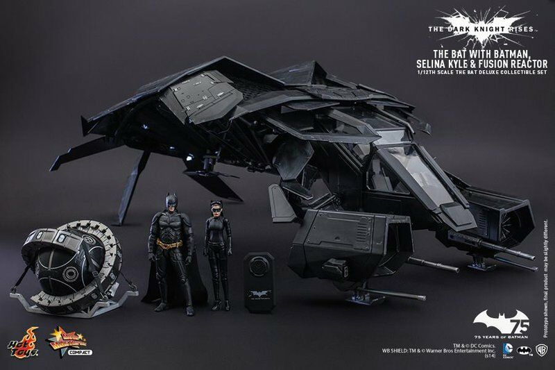 Hot Toys MMS 002 el caballero de la noche asciende el bate de lujo Ver. 1 12 Batman Gato