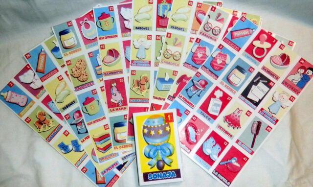 Wild Safari Baby Shower Bingo Set For Sale Online Ebay