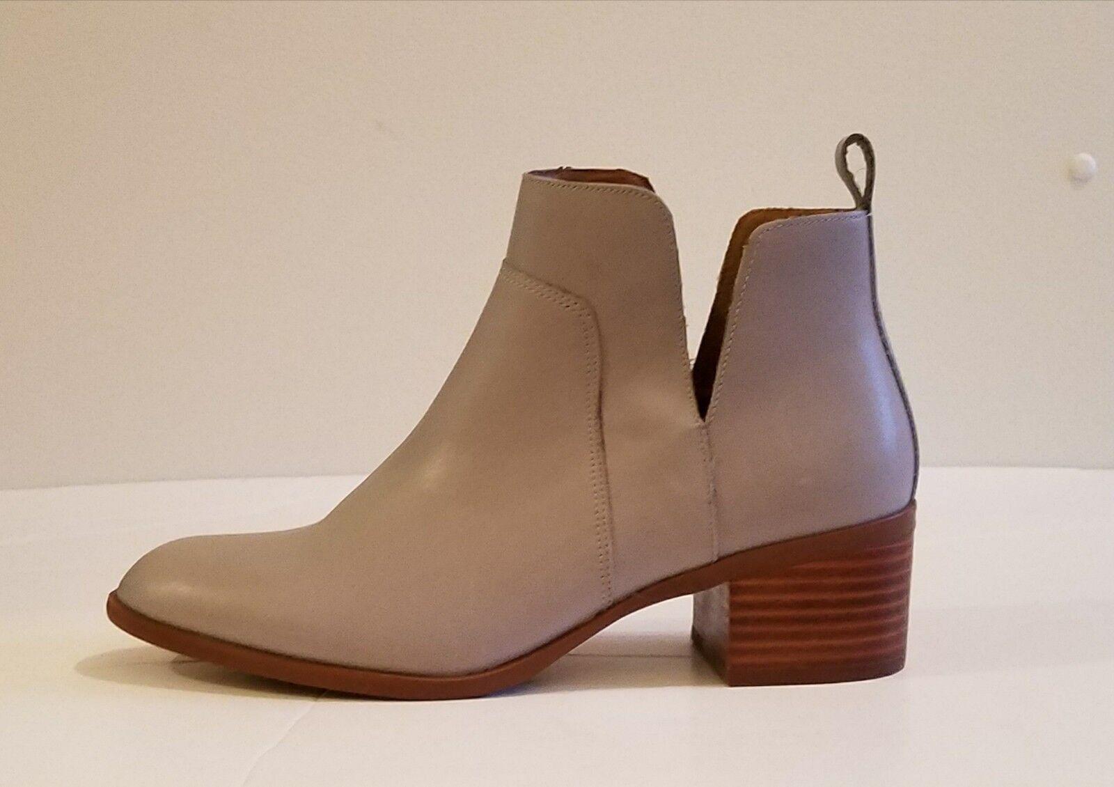 Sconto del 60% NWOB Franco Sarto Rosie Ladies' Leather     Ankle avvioies grigio sz 8  elementi di novità