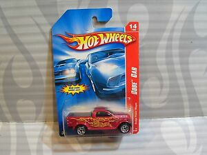 2007-HOT-WHEELS-039-039-CODE-CAR-039-039-098-DODGE-POWER-WAGON-BURGANDY-0917K