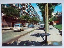 TRIESTE Via Baiamonti FIAT 500 600 multipla vecchia cartolina