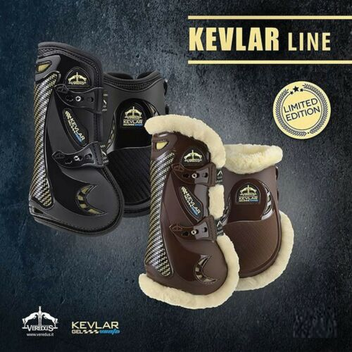 Veredus Carbon Gel Vento Professional Tendon Boots STS with KEVLAR® Protection