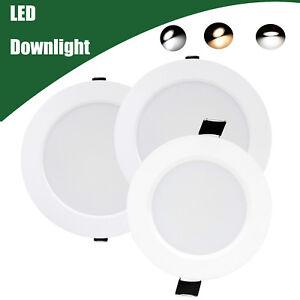 Lights & Lighting Downlights Hard-Working Ip65 Led Downlights 5w 7w 9w 12w 15w Led Lamp Led Light Dimmable Waterproof Led Down Light Bathroom Downlight Consumers First