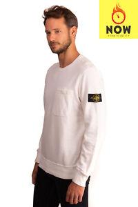 RRP-195-STONE-ISLAND-Sweatshirt-Size-L-Detachable-Patch-Long-Sleeve-Crew-Neck