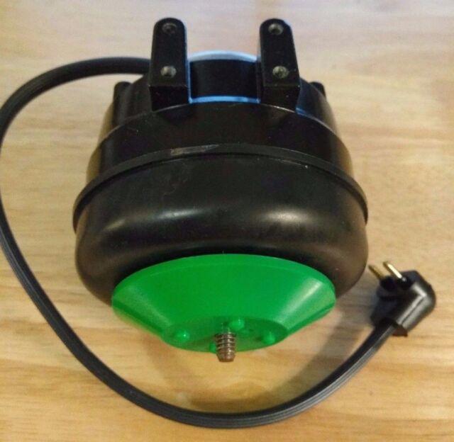 Mars 00652 Fan ECM Refrigeration Motor 4-12w 1550 RPM 115v CW Lyall Plug  Ssc2