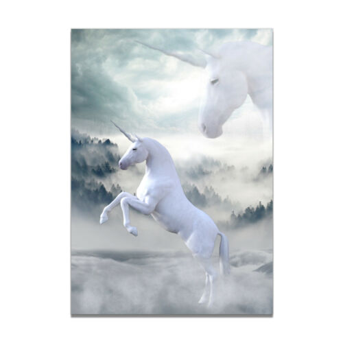 Cartoon Unicorn Canvas Print Poster Bedroom Living Room Wall Picture Home Decor