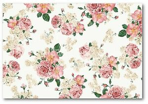 Background Effect A4 Cake Topper Icing Sheet Ndw63 Shabby Chic