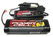 T-Maxx 3.3 EZ-START BATTERY & 2 AMP Charger (Revo 1800 MAh 7.2v 4907 Traxxas