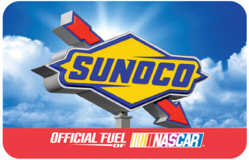 $100 Sunoco Gas Gift Card For Only $92  at  ebay.com