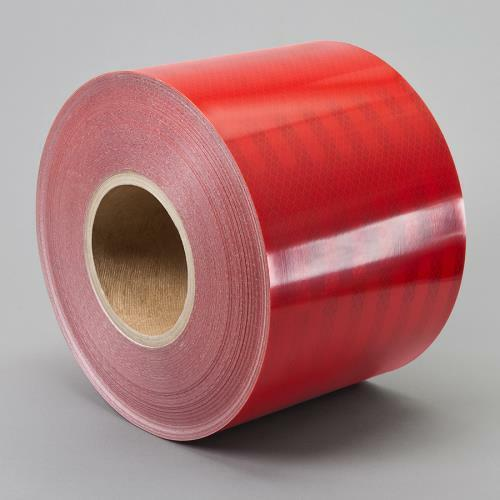 """3M 3432 Engineer Grade Prismatic Reflective RED CONSPICUITY TAPE 1//2/"""" x 50 yd"""