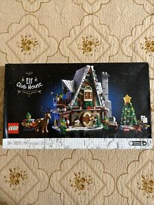 LEGO Elf Club House: Winter Village Collection 10275 (1197 Pcs) Fast Shipping