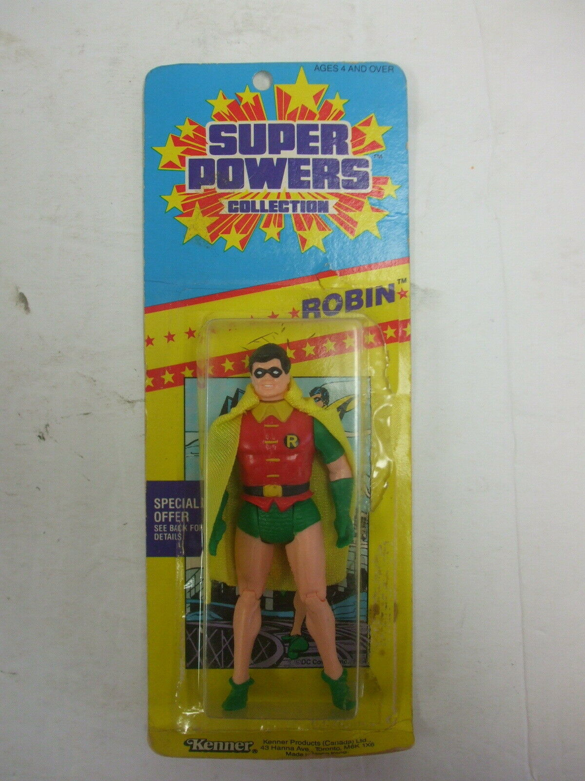 Kenner DC Super Powers Sammlung Robin (small card)MOC