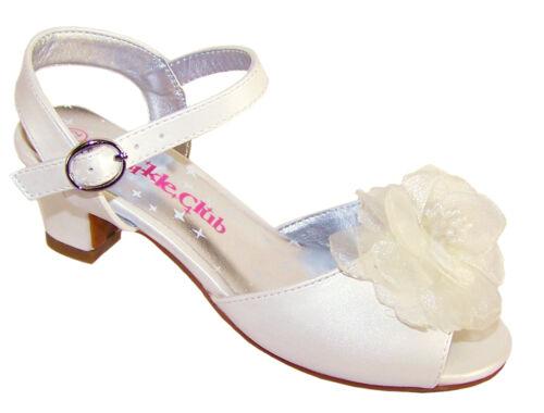 Filles demoiselle de enfant demoiselle brillantes sac main d'honneur sac d'honneur ivoire soire sandales rrBRYq