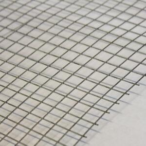 5x Welded Wire Mesh Panels 3\'x2\' Galvanised Steel Sheet 1/2\