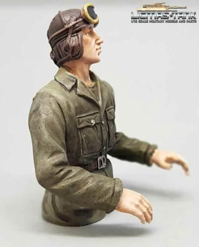 Figur 1:16 U.S Panzer Panzerbesatzung WW2 Kommandant Halbfigur Art:F3006
