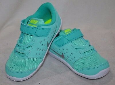 Nike Stelos (TDV) Hyper Turquoise/Silver Toddler Girl's Shoes-Assorted Sizes  NWB
