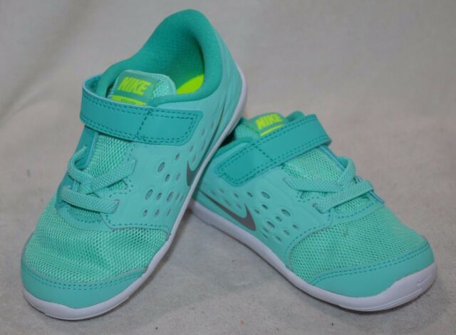 f510367f47 Nike Stelos (TDV) Hyper Turquoise/Silver Toddler Girl's Shoes-Assorted  Sizes NWB