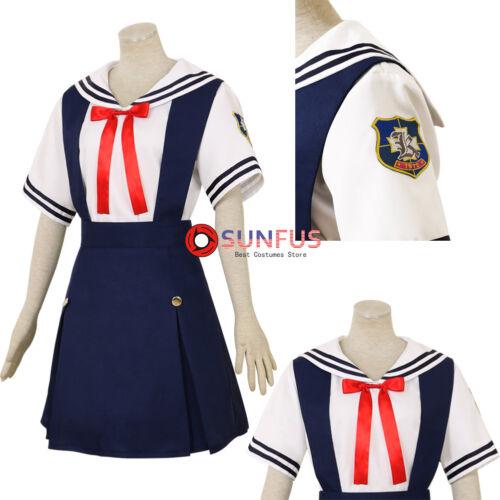 Halloween CLANNAD Tomoyo Kotomi Fuko Nagisa Kyou Summer Uniform Cosplay