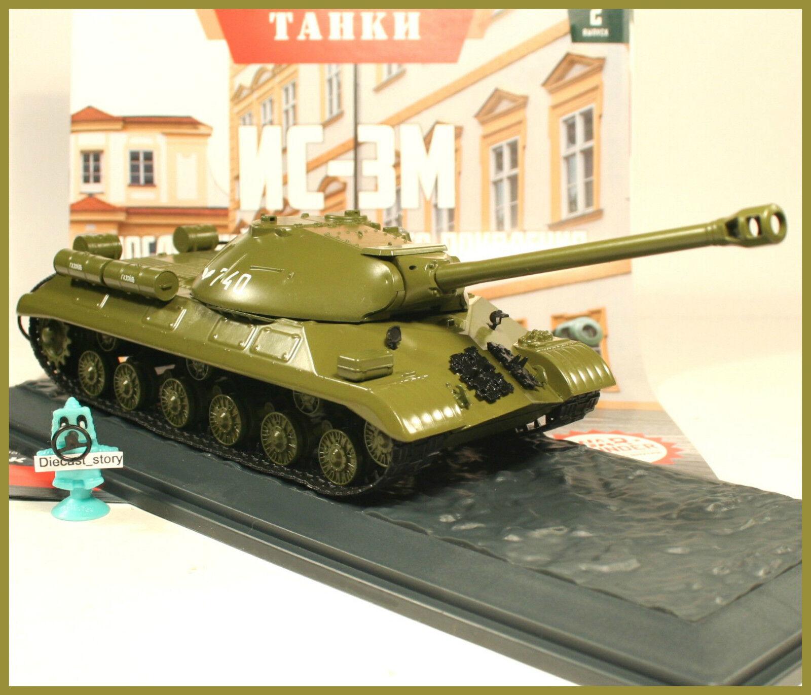 1 43 Tank IS -3 M USSR Panzer Russian Modimo Magazin 95533;65533;CA ex SSM USSR NVA DDR