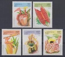 Laos (Postes Lao) - Michel-Nr. 1475-1479 postfrisch/** (Fleischfressende Pflanze
