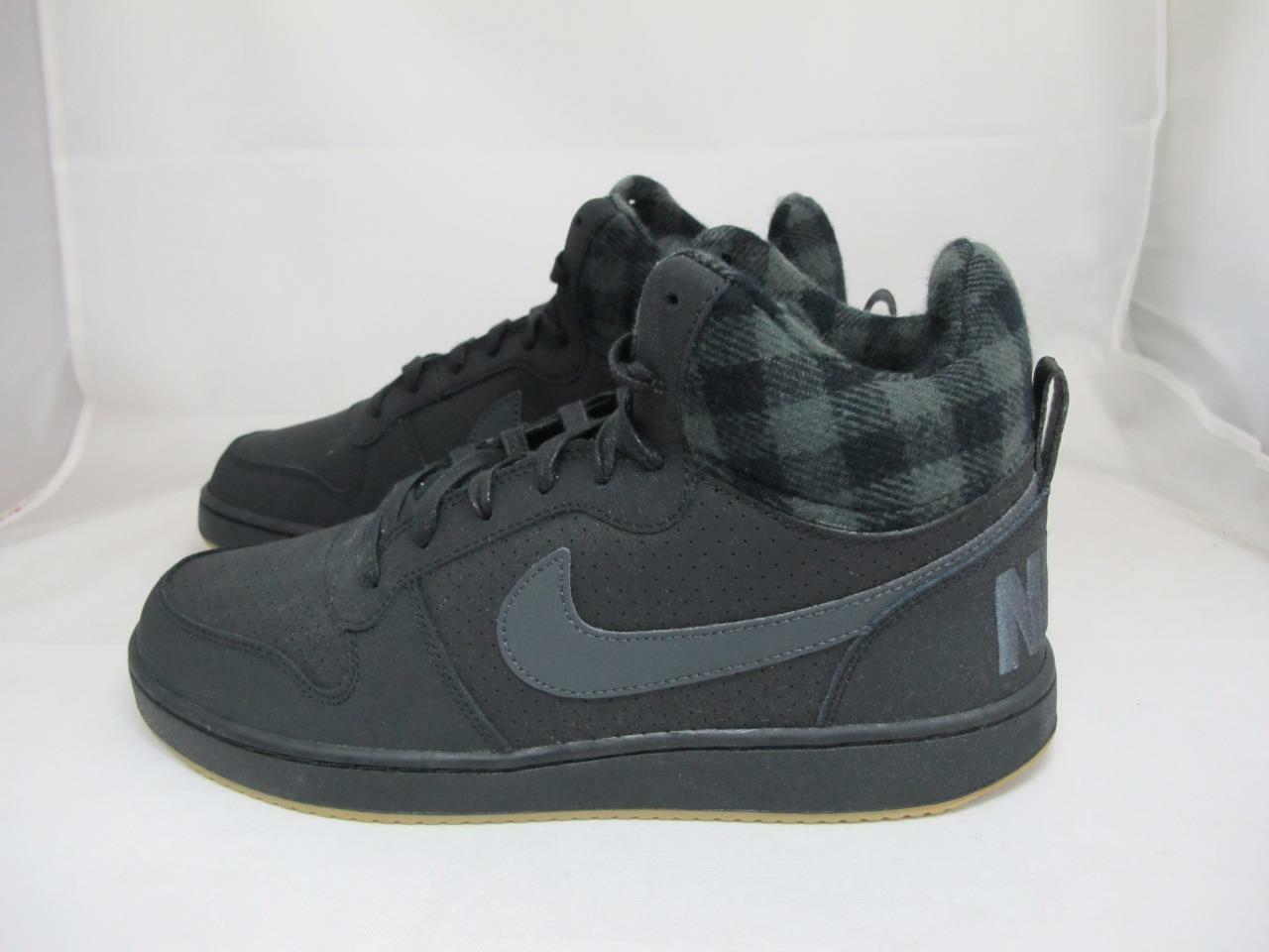 NEW NEW NEW homme NIKE COURT BROUGH MID PREM 844884-002 412122